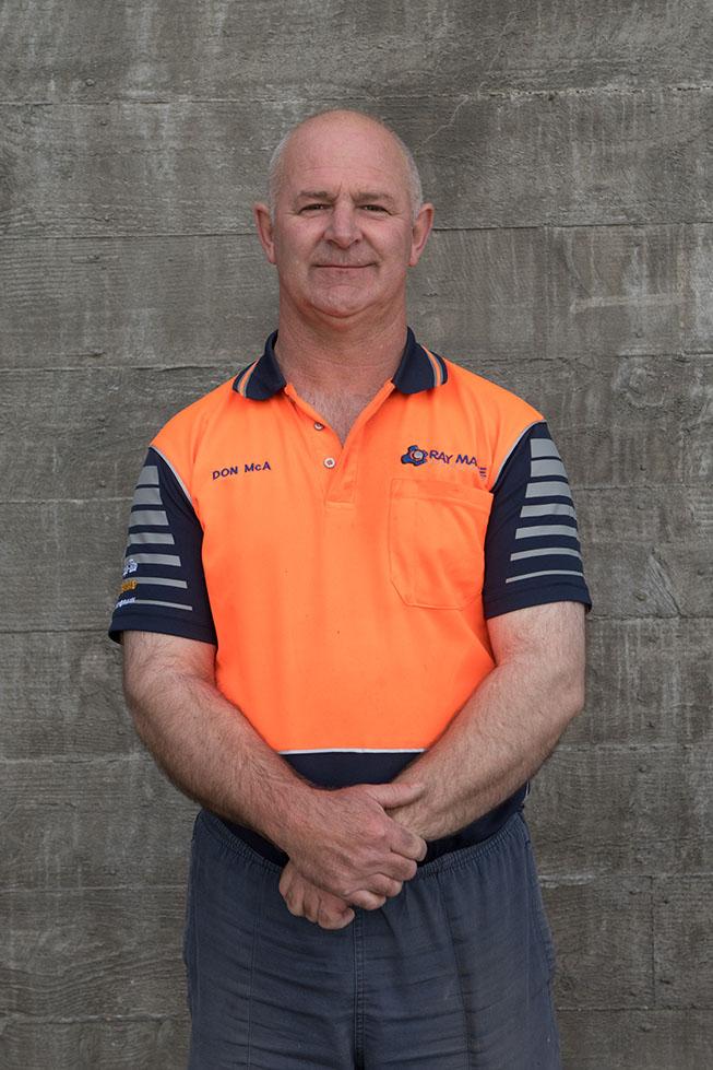 Don McAulay - Ray Mayne TurboRain Service Technician