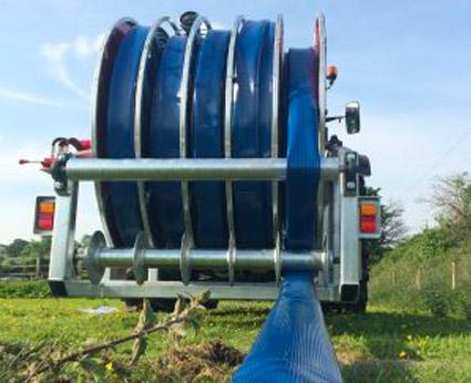 TurboRain turbine drive irrigation