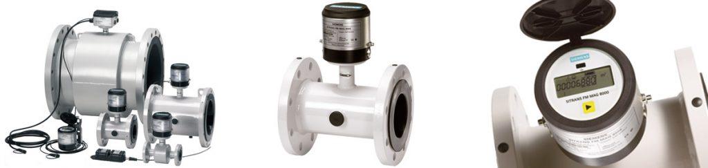 Siemens-flowmeters